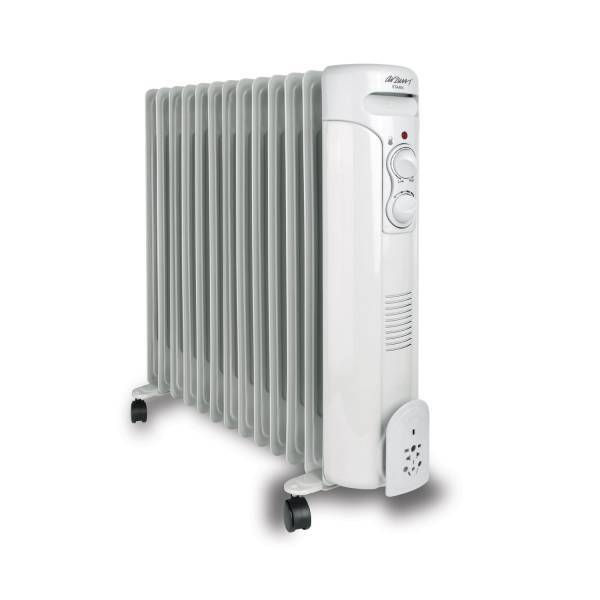 AR040 Stark Oil Filled Radiator - White