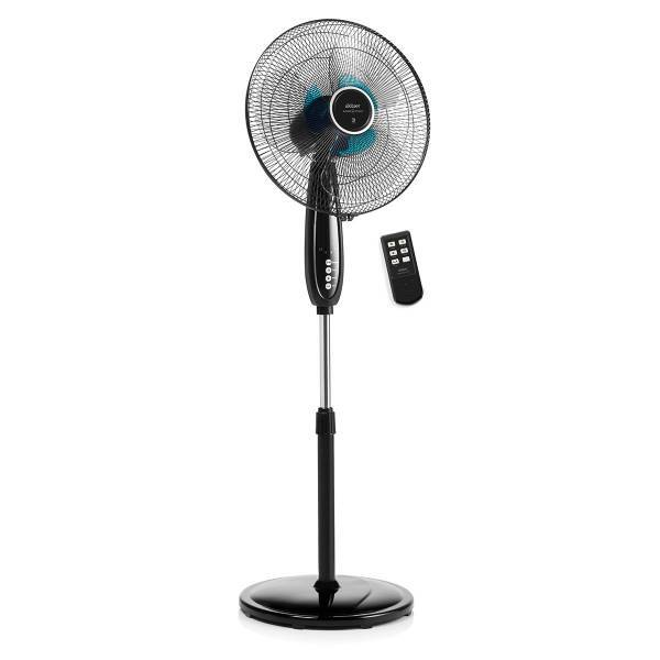 AR063 Windream Power Stand Fan With Remote Control - Black