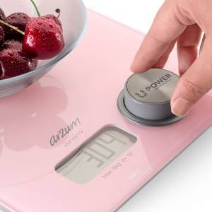 AR1063 Infinity Eco-Friendly Kitchen Scale - White - Thumbnail