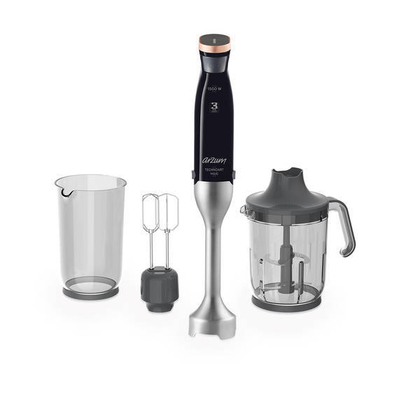 AR1065 Technoart Maxi Hand Blender Set - Black