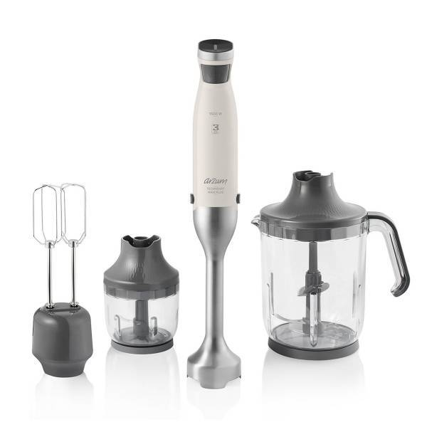 AR1070 Technoart Maxi Plus Blender Set - Krem