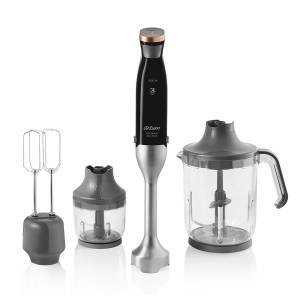AR1070 Technoart Maxi Plus Blender Set - Siyah - Thumbnail