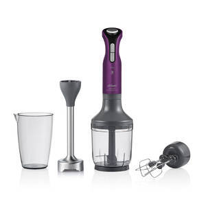 - AR1083-M Prostick Multispeed 2000 Hand Blender Set - Deep Plum