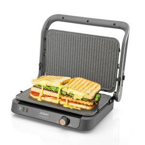 AR2001 Tostçu Delux Grill and Sandwich Maker - Stainless Steel - Thumbnail
