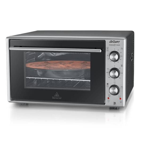 AR2002 Cookart Maxi 50 Lt Double Glassed Oven - Stainless Steel