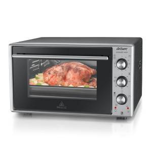 AR2002 Cookart Maxi 50 Lt Double Glassed Oven - Stainless Steel - Thumbnail