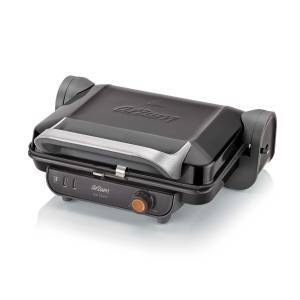 AR2005 Eco Panini Grill and Sandwich Maker - Black - Thumbnail