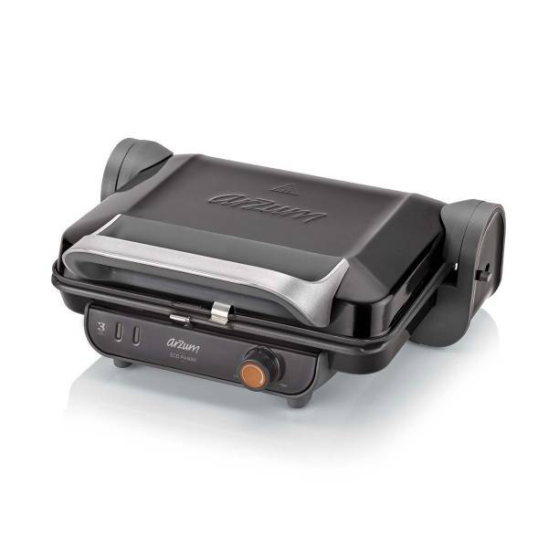AR2005 Eco Panini Grill and Sandwich Maker - Black