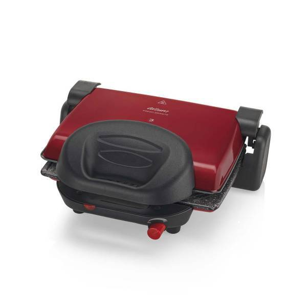 AR2012 Prego Granite Grill and Sandwich Maker - Red