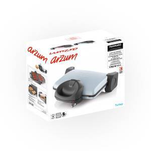 AR2024 Paninaro Grill and Sandwich Maker - Misty - Thumbnail