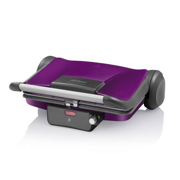 AR2030 Grado Granite Grill and Sandwich Maker - Deep Plum