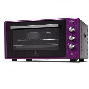 Arzum - AR2034 Cookart Color 50Lt Double Glassed Oven - Deep Plum