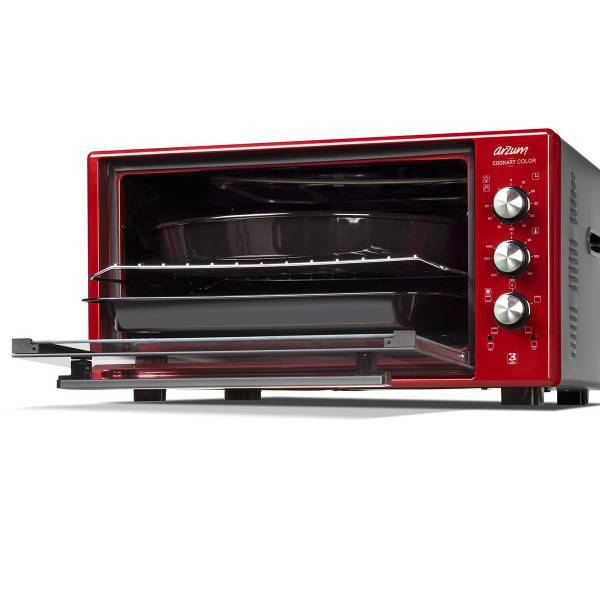 AR2034 Cookart Color 50Lt Double Glassed Oven - Pomegranate
