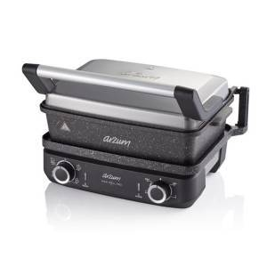 Arzum - AR2048-INX Maxi Grill Pro Multi Functional Cooker - Stainless Steel