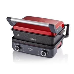 Arzum - AR2048-N Maxi Grill Pro Multi Functional Cooker - Pomegranate