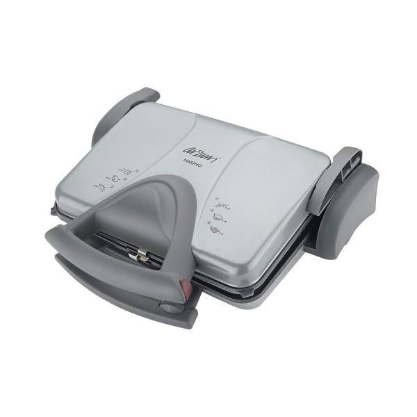 AR227 Marino Grill and Sandwich Maker - Grey