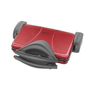 AR286 Prego Red Grill and Sandwich Maker - Red - Thumbnail