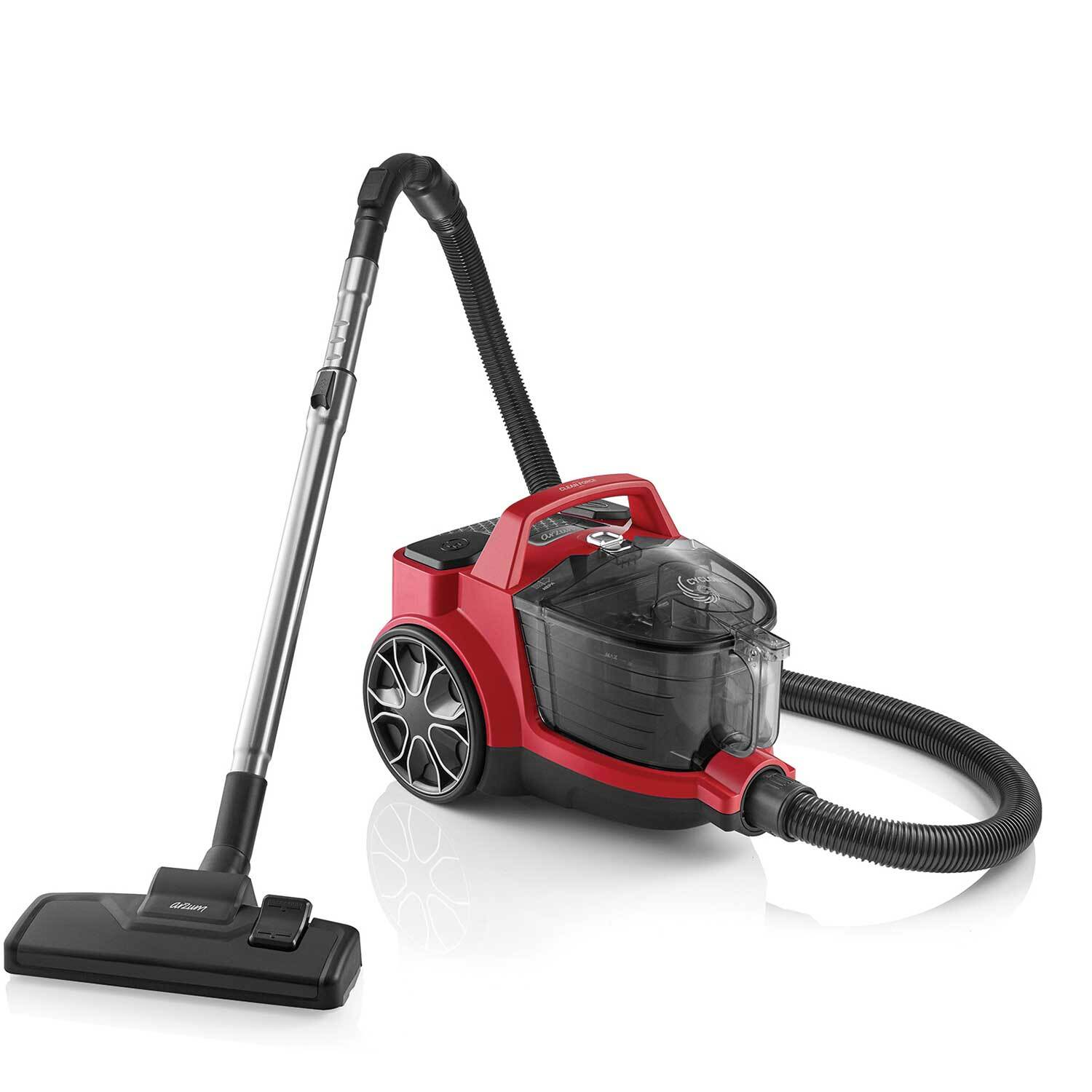 Arzum - AR4071 Clean Force Red Cyclone Filter Vacuum Cleaner - Red