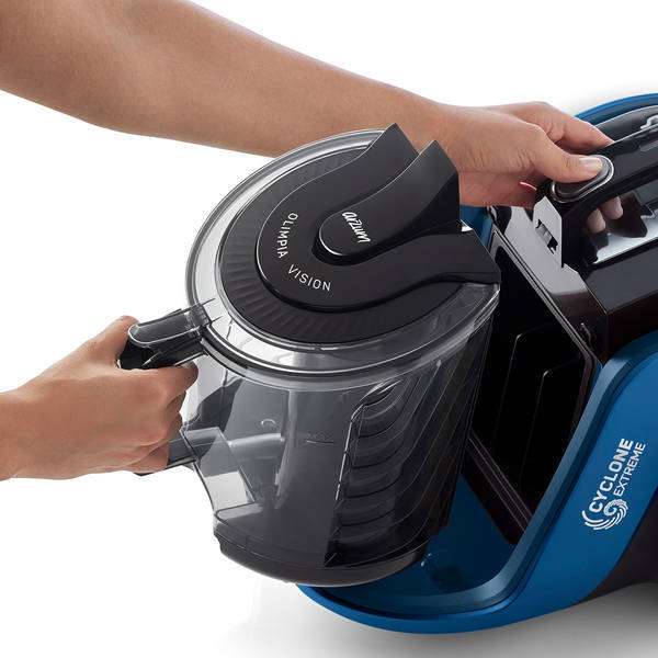 AR4125 Olimpia Vision Cyclone Filter Vacuum Cleaner - Blue