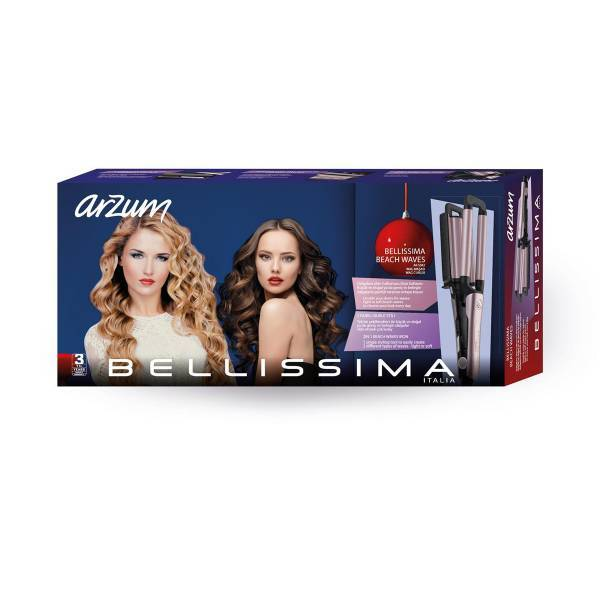 AR5042 Bellissima Beach Waves Wag Curler - Pink