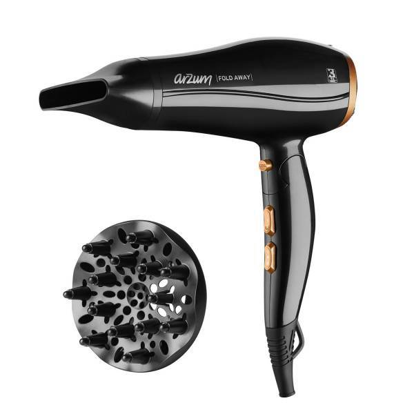 AR5046 Fold Away Hair Dryer - Black