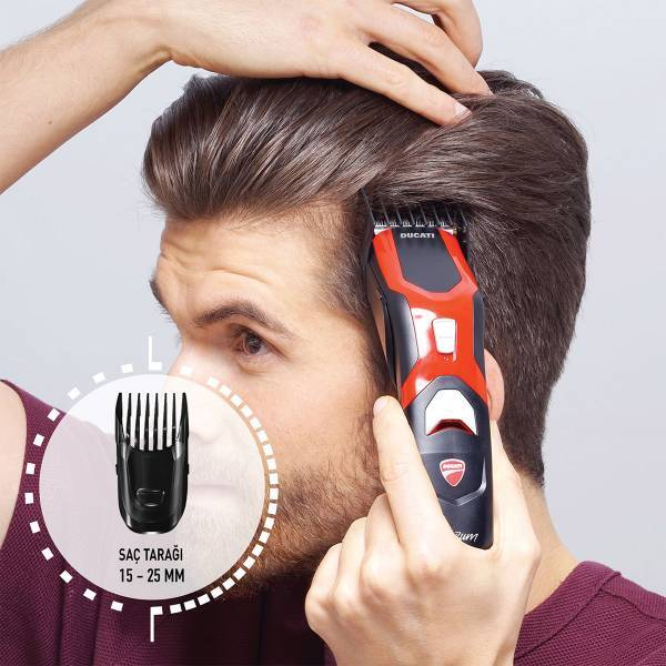 AR5504 Ducati By Arzum S-Curve Hair Clipper - Black