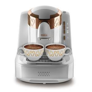 - OK001 OKKA Turkish Coffee Machine - White