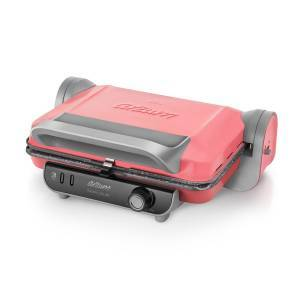 Arzum - Refurbished - AR2013 Panini Color Grill and Sandwich Maker - Pink