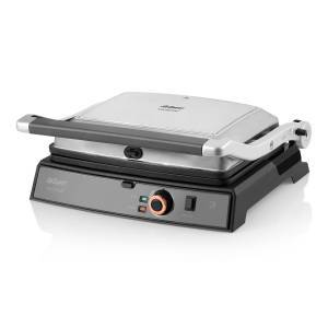 Arzum - Refurbished - AR2025 Kantintost Grill and Sandwich Maker - Stainless Steel