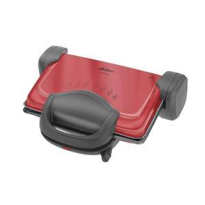 Arzum - Refurbished - AR287 Tostani Grill and Sandwich Maker - Red